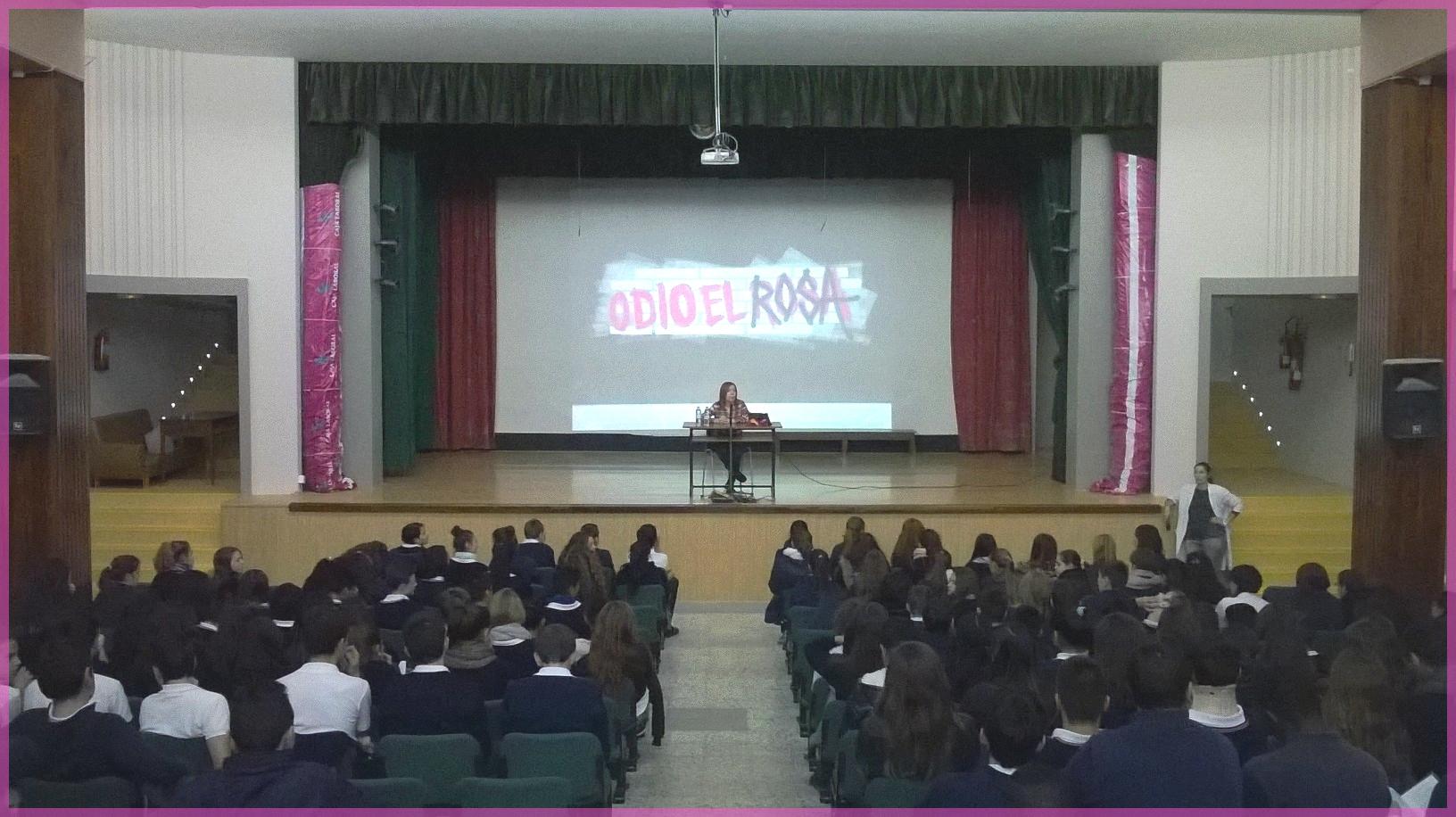 colegio hijas de san jose odio el rosa presentacion