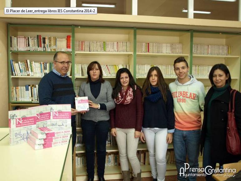 """odio el rosa dentro del programa """"El placer de leer"""" del ayuntamiento de Constantina (Sevilla)"""