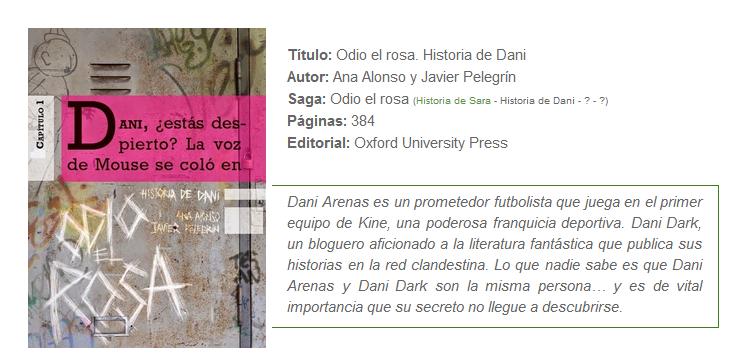 el aura de los libros reseña historia de dani
