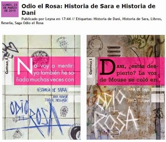 rincon leyna reseña odio el rosa