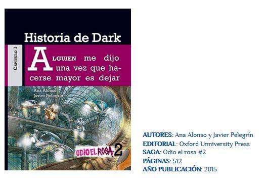 te deseo un libro dark