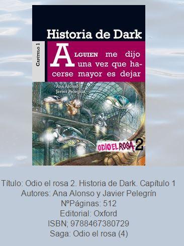 te deseo un libro dark julio