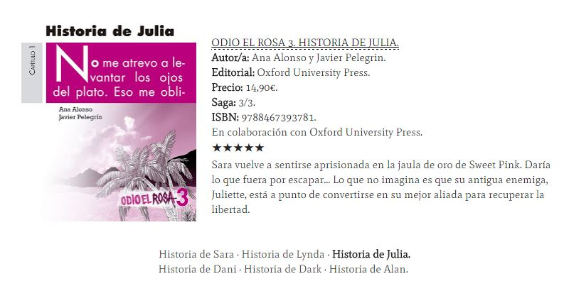 reseña historia de julia